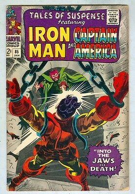 Tales of Suspense #85 January 1967 VG-