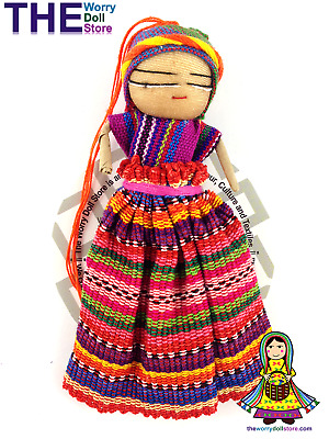 New Worry Doll Girl 12cm with Story
