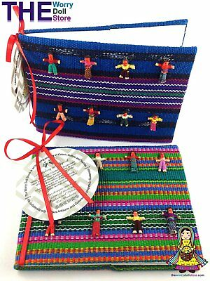 New Worry Dolls Note Book For Boys
