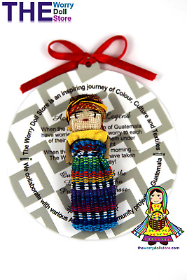New Worry Doll Girl 5cm with Story