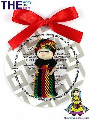 New Rasta Girl Worry Doll 5cm