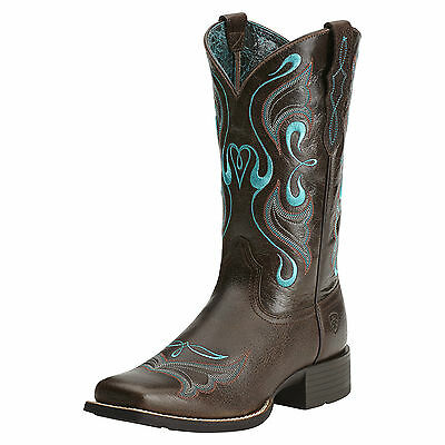 ARIAT - Women's Whimsy Boots - Fiddle Brown / Rich Choc - ( 10014168 ) - New