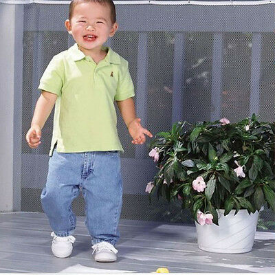 Safety 1st Railnet Balcony & Deck Stair Railing Guard Child Safety Netting