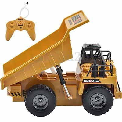 6 Channels 1/12 RC Remote Control Electric Truck Tipper Construction Lorry Toy