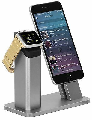 ZIKU Charging Stand for Apple Watch 3 2 iPhone 8/8 plus/iPhone X/SE/7/6S/6/PLUS