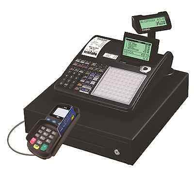 Casio Cash Register with CREDIT CARD READER. FOR FREE. MERCHANT ACCOUNT REQUIRED