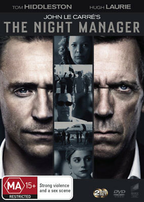 The Night Manager Season / Season 1 - Tom Hiddleston, Hugh Laurie DVD R4 New!