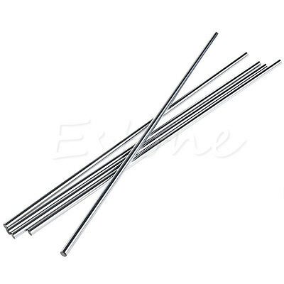 1PC 8mm x 400mm Outer Diameter OD Cylinder Liner Rail Linear Shaft Optical Axis