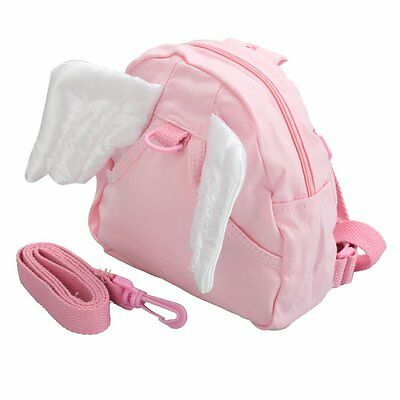 CY Baby Children Infant Toddler Kids Angel Wings Walking Safety Backpack Bag