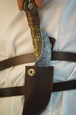 Re enactment-LARP-SCA-Cos-Play-Buccaneers-CLAW SINGLE LARP LATEX KNIFE IN SHEATH