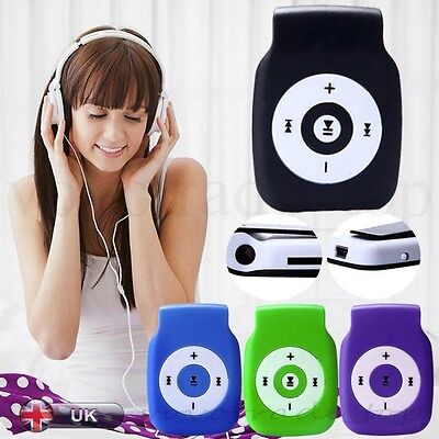 US New Mini Music MP3 Player USB Support up to 32GB Micor SD TF Card Music Media
