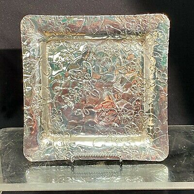 Tiffany Sterling Silver Square Tray
