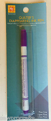 Violet Quilters Disappearing Ink Marker Pen (EZ Simplicity) Sewing Patchwork