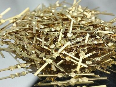 33MM Lamp Chandelier Parts Beads Connector Metal Bowtie Butterfly Gold Pin