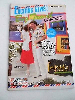 Frederick's of Hollywood Catalog- 1985 Vol 40 Issue 296  Vintage Fashion