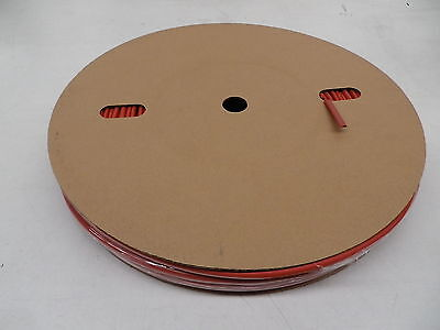 Heat Shrink on a reel 3.2mm shrinks to 1.6mm Colour Red Spool Length 100 metre