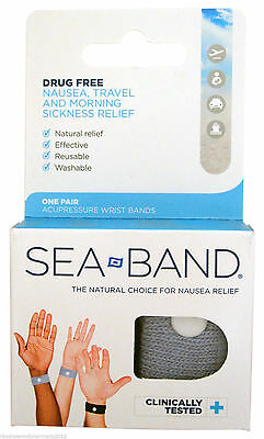 Sea Band SeaBand Acupressure Wrist Band (Sea sick)