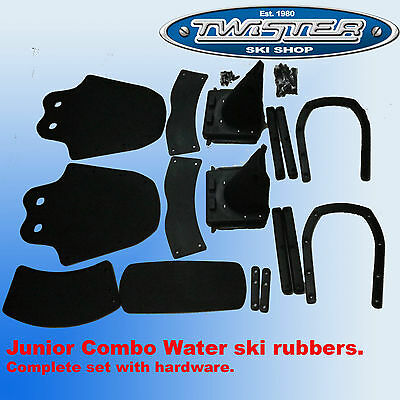 Junior Water Ski Rubbers Combo binding adjust set up SPECIAL PRICE limited time
