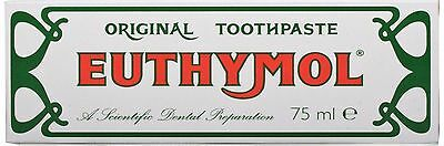 Euthymol Original Toothpaste 75ml  Available In Multi Packs
