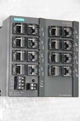 SIEMENS SCALANCE X216  6GK5216-0BA00-2AA3 SIMATIC NET Industrial Ethernet Switch
