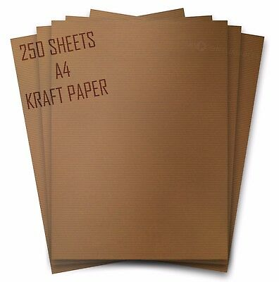250 Sheets of Clairefontaine A4 Brown Kraft Paper. 90gsm. 100% Natural. 3708C