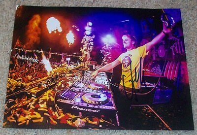 ARMIN VAN BUUREN SIGNED AUTOGRAPH 8x10 PHOTO F w/VIDEO PROOF A STATE OF TRANCE