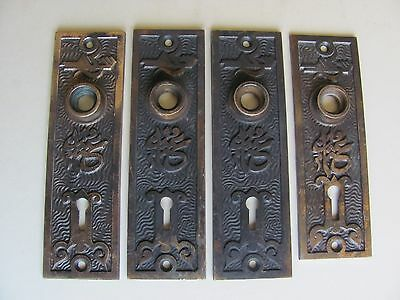 ONE Antique Mallory Wheeler ARABIC Backplate for Antique Door Knobs