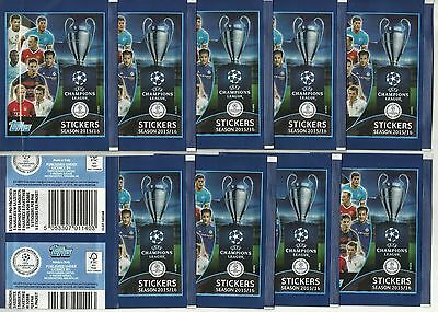 2015 TOPPS UEFA Champions League 2015 - 2016 10 SEALED Packets