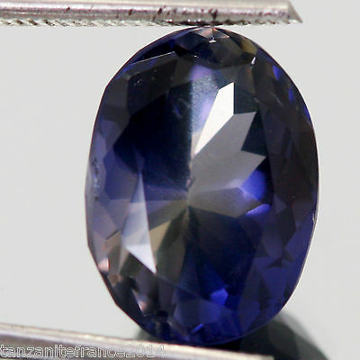 3,71 cts,   IOLITE NATURELLE TOP COLOR  (pierres précieuses/ fines)