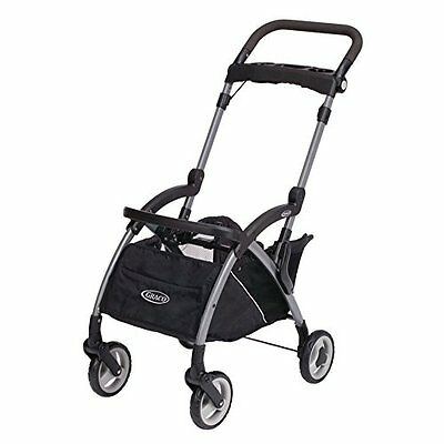 Graco Snugrider Elite Stroller and Car Seat Carrier, Black 2015 - NEW