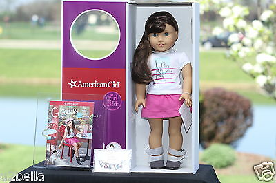 American Girl Grace's Thomas Doll Of The Year Bracelet & Book New  Fast Ship