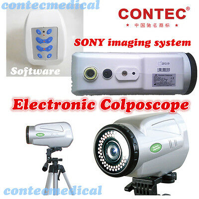 CONTEC EC100 new Electronic Colposcope,Software,SONY imaging System,Video output