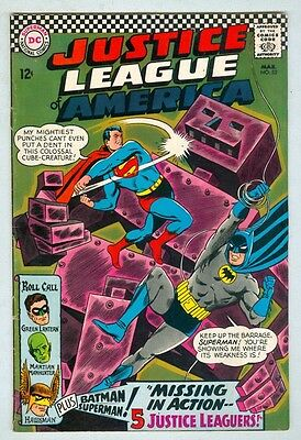 Justice League of America #52 March 1967 VG