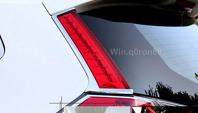 For Nissan X-trail Rogue 2014 2015 Rear Window Lamp Cover Refit LED Brake Light