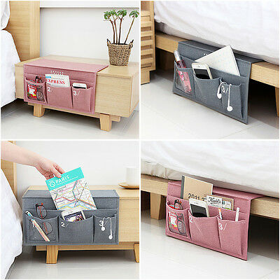 UIT Interior Hanging Bed Organizer Desk Table Storage Caddy Bedside Pocket