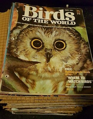 Birds of the world magazines all magazines volumes 1-9 108 in total