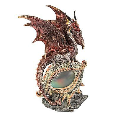Eye of the Dragon - Red 21cm High Colour Changing LED Light Gothic Nemesis Now