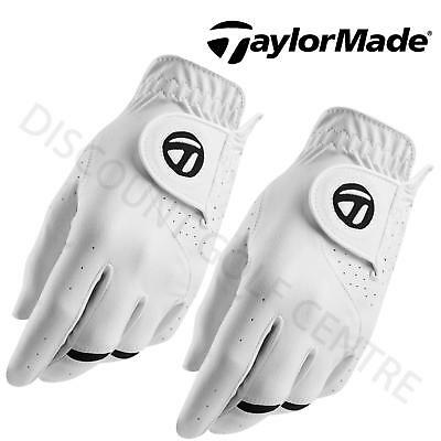 TaylorMade 2017 Mens All Weather Golf Glove TWIN PACK Right Handed Golfer 2 PACK