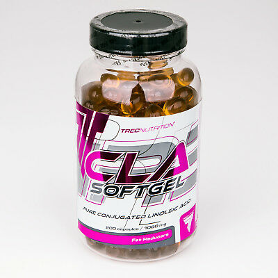 CLA Softgel 100/200 Capsules Fat Burner Cellulite Reducer Weight Loss Slimming