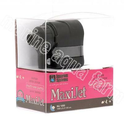 Maxijet Mj1000 Pump, Powerhead 1000L/h, Aquarium Fish Tank Filter Under Gravel