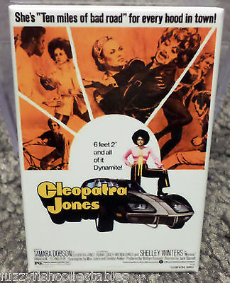Cleopatra Jones Movie Poster 2 X 3 Refrigerator Locker Magnet Dobson Grier 5 95 Picclick