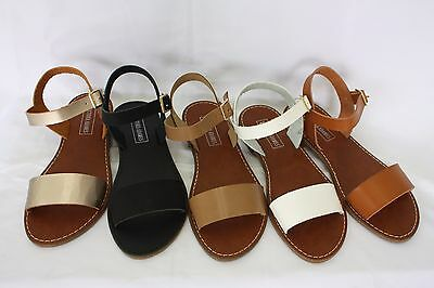 New KIM Women Sandals Shoes Gladiator Thong Flops Strap Flip Flat Strappy STEVE