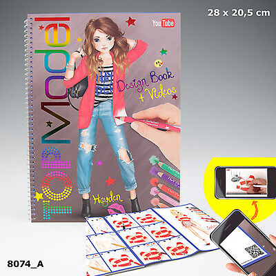 New Top Model Design Book And Video