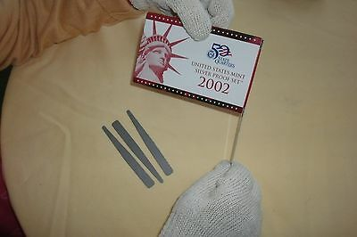 "1999-2016 Silver & Mint Proof set, ""TOOL""  for Easily Opening the boxes, 3 pack."