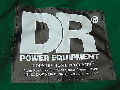 W.E. Chapps Large Cover for DR Field and Brush Mower - Older Green Version