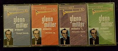 Glenn Miller orchestra 4 cassette pack. In cardboard outer. Youtube Youtubers.