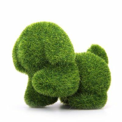 M169 Grass land Handmade Artificial Grass Dog