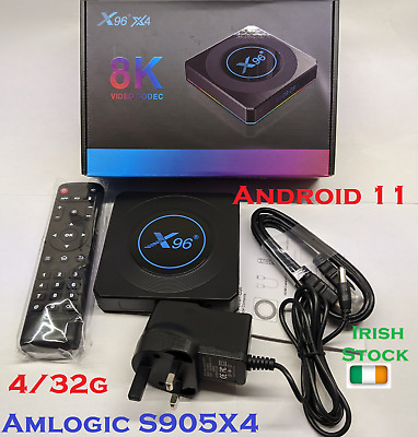 Openbox VX PLUS Android 9.0 TV Box, 4Gb RAM, 32Gb Storage, IRL Stock