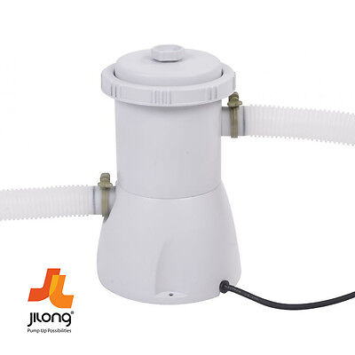Jilong 530Gal 2006L/h Water Filter Pump For Inflatable Swimming Paddling Pools