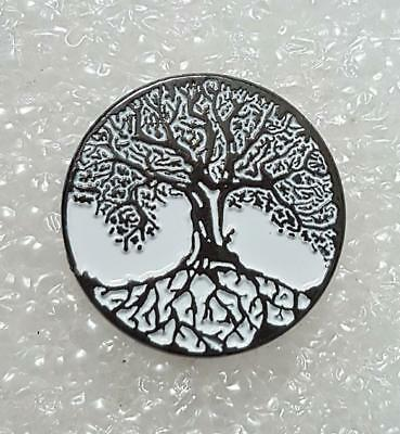 Tree of Life enamel pin / lapel badge